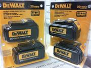 DEWALT 20V Max Batteries 2 PACKS DCB200-2